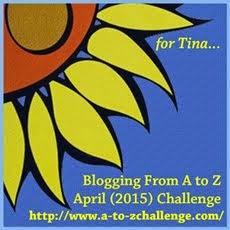 2015 Blogging April A to Z Challenge