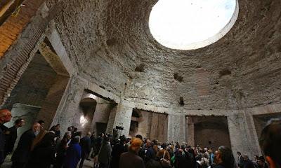 Έγκριση σχεδίου αποκατάστασης της Χρυσής Οικίας του Νέρωνα