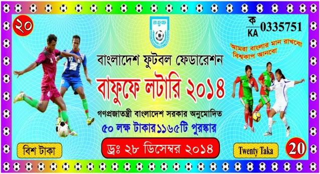 Bangladesh Football Federation Development Lottery Result