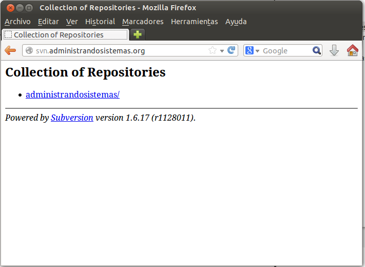 instalando subversion en ubuntu linux