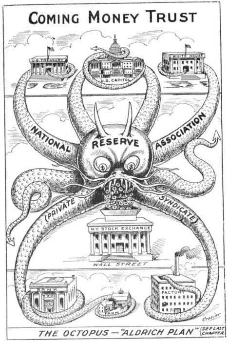 The Federal Reserve as Crowned Bloodsucker