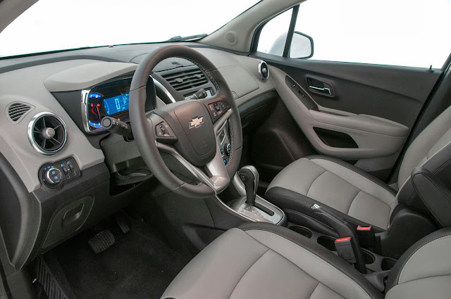 carro Tracker Chevrolet 2014 - interior