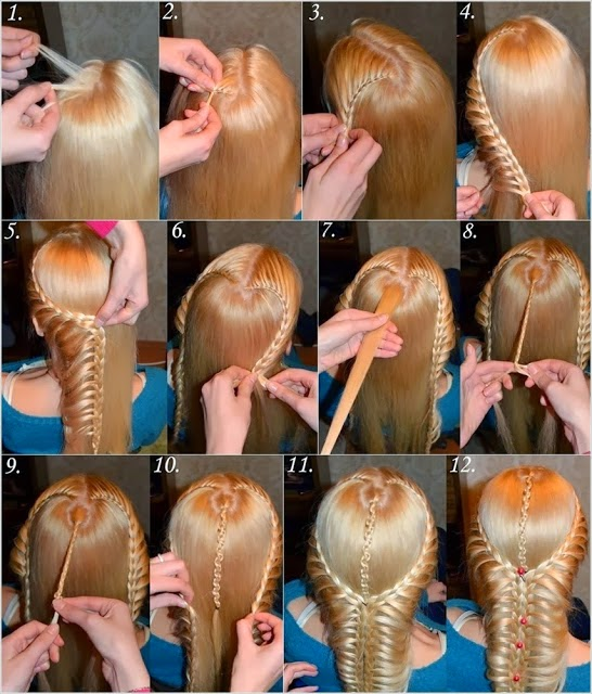HAIRSTYLE REAL STEP BY STEP