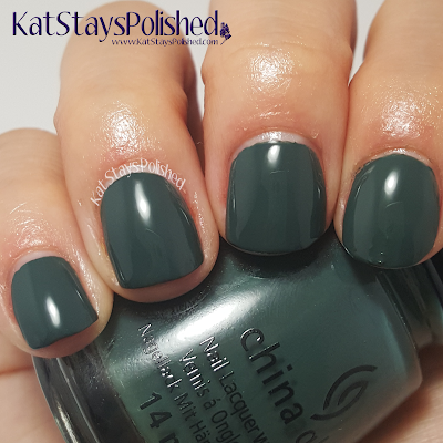China Glaze - The Great Outdoors - Take a Hike | Kat Stays Polished