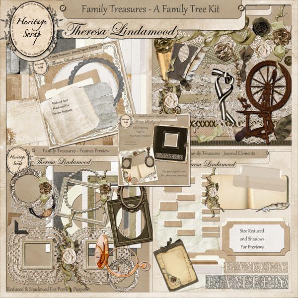 family treasures new family tree kit