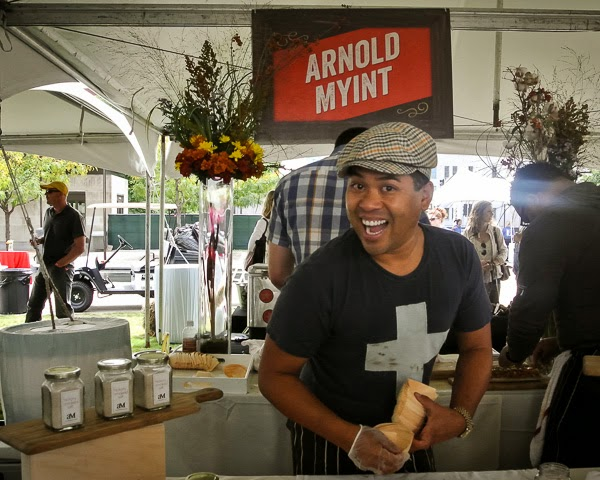 Arnold Myint at Music City Eats Food Festival in Nashville Tennessee