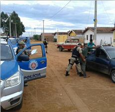 PM realiza Operação Intensificação em Irecê, Morro do Chapéu, Jussara e Bonito