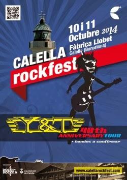 Calella RockFest 2014 en octubre