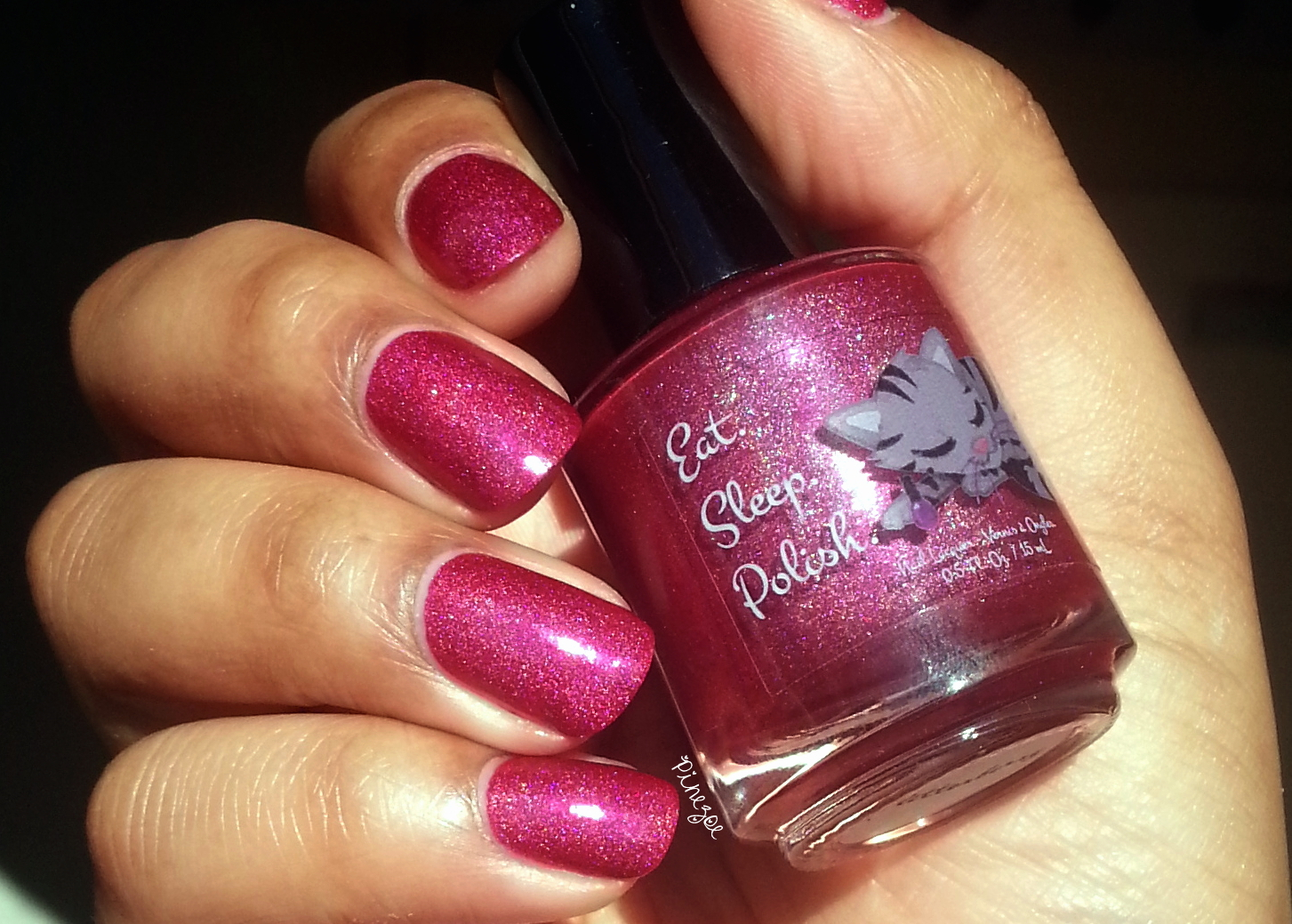 Eat Sleep Polish - Glitter Berry for My Kingdom For Glitters!