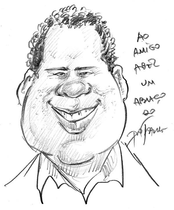 Caricatura Abel Costa