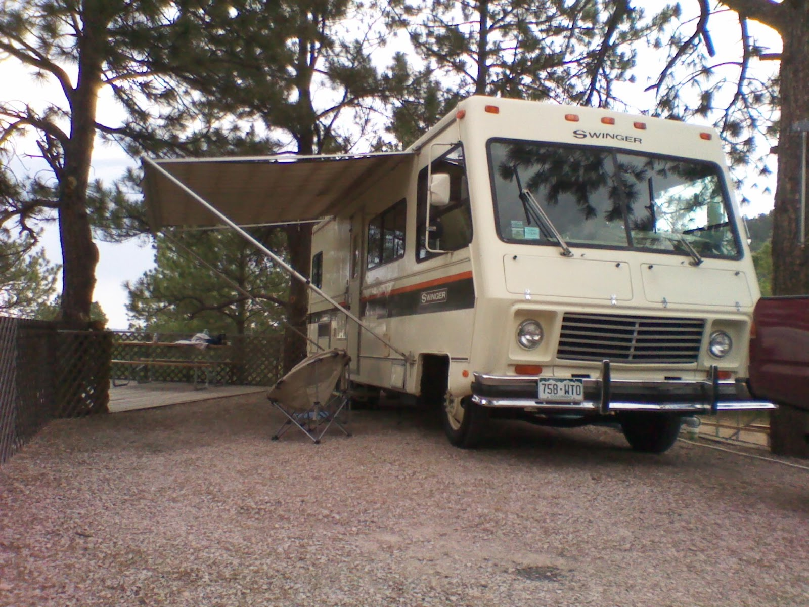 My Vintage 1978 Georgie Boy Swinger Executive Lounge Motorhome Duo Therm Thermostat Wiring Diagram 1979 Nu Wa Picture Shot While Camping For The First Time In This Coach July Of 2011