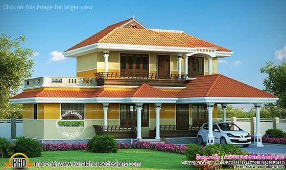 Kerala model house