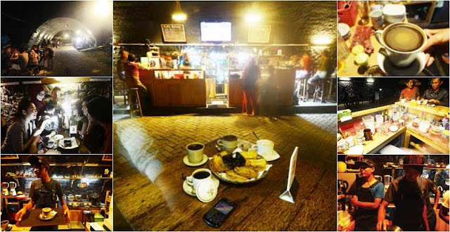 Cafe Kolong Jembatan Kota Jember