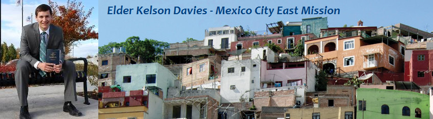 Elder Kelson Davies Mission Blog: Mexico City East