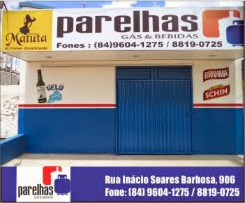 PARELHAS GÁS E BEBIDAS