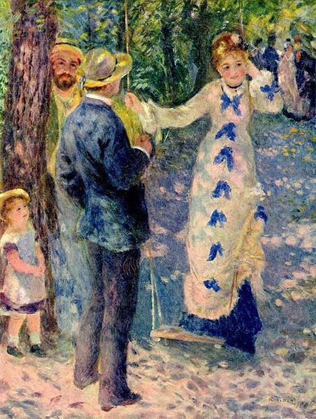"Picture of ""The Swing"" by Renoir, 1876"