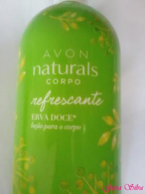 Comprei e gostei: Loção para o corpo - erva doce - Avon naturals