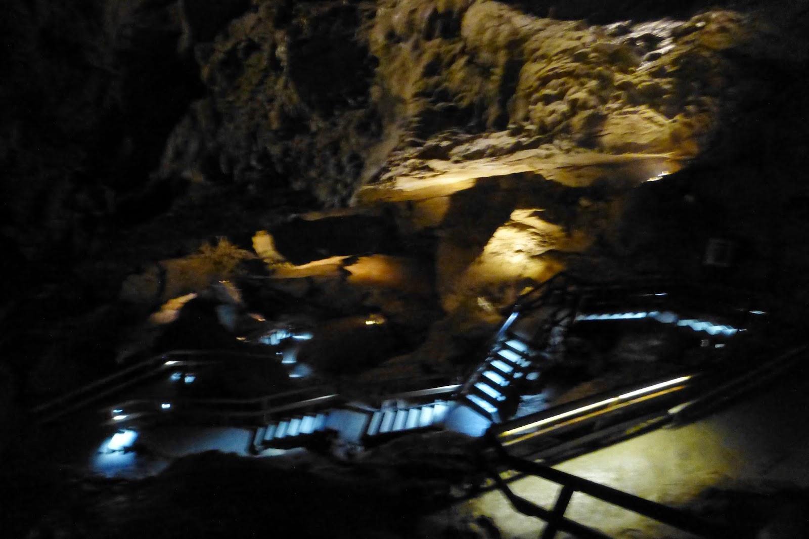 lamprechtshöhle stiegen