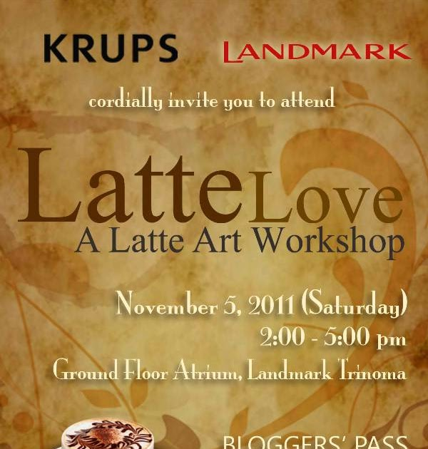 Tara lets eat latte love a latte art workshop stopboris Choice Image