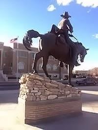 Statue Sheriff Pat Garrett