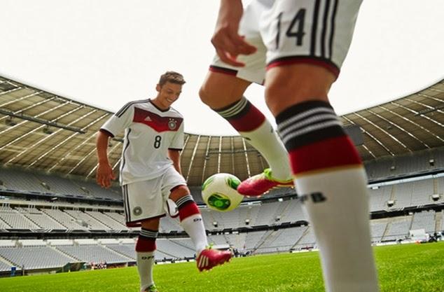 Jerman 2014 FIFA World Cup Home Football Socks