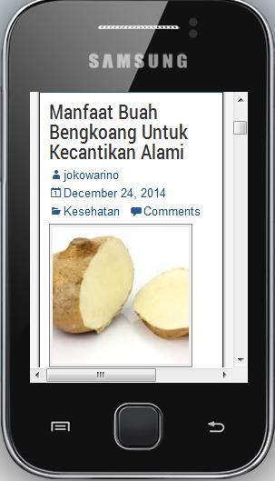 Kontes Jokowarino.com Tempat Berbagi Informasi Mengenai Pertanian Indonesia