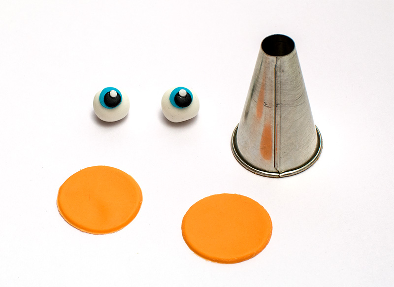 Turbo fondant figurines eyes