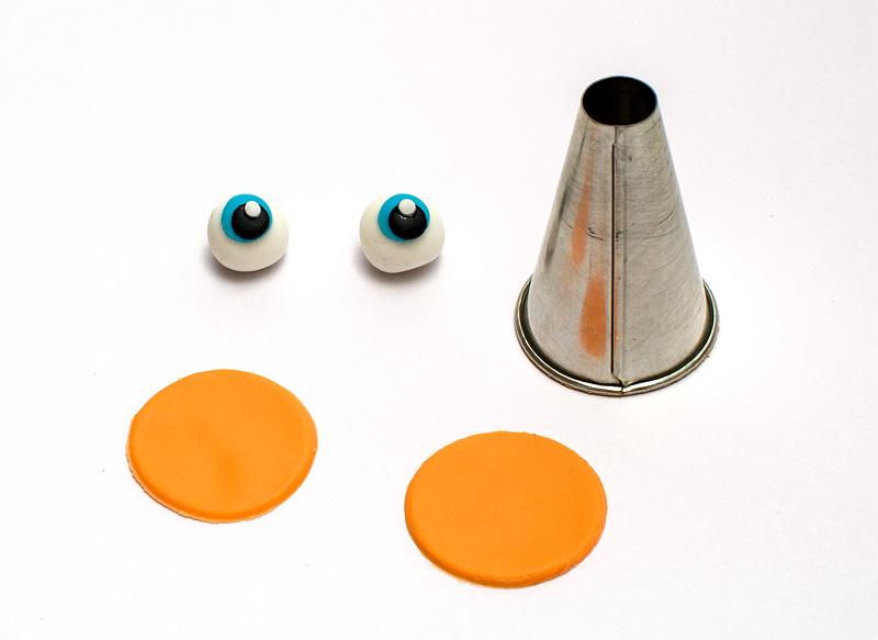 Turbo fondant figurines eyes
