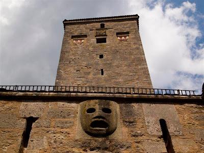 Puerta del castillo de Rothenburg ob der Tauber