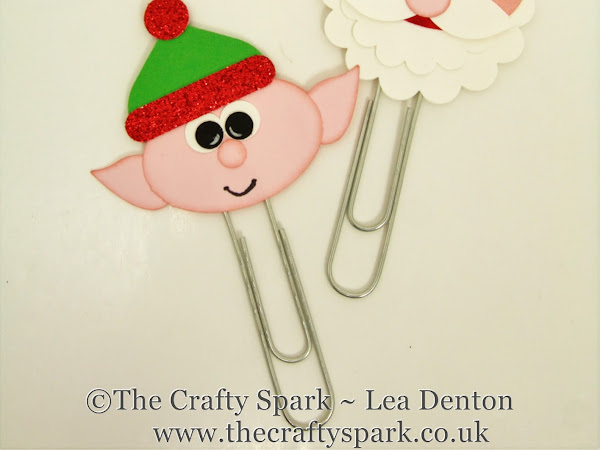 Santa & Elf Giant Paperclips - Christmas Eve Box & Stocking Fillers