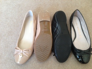 Quilted Ballet Pumps   Spend vs Splurge
