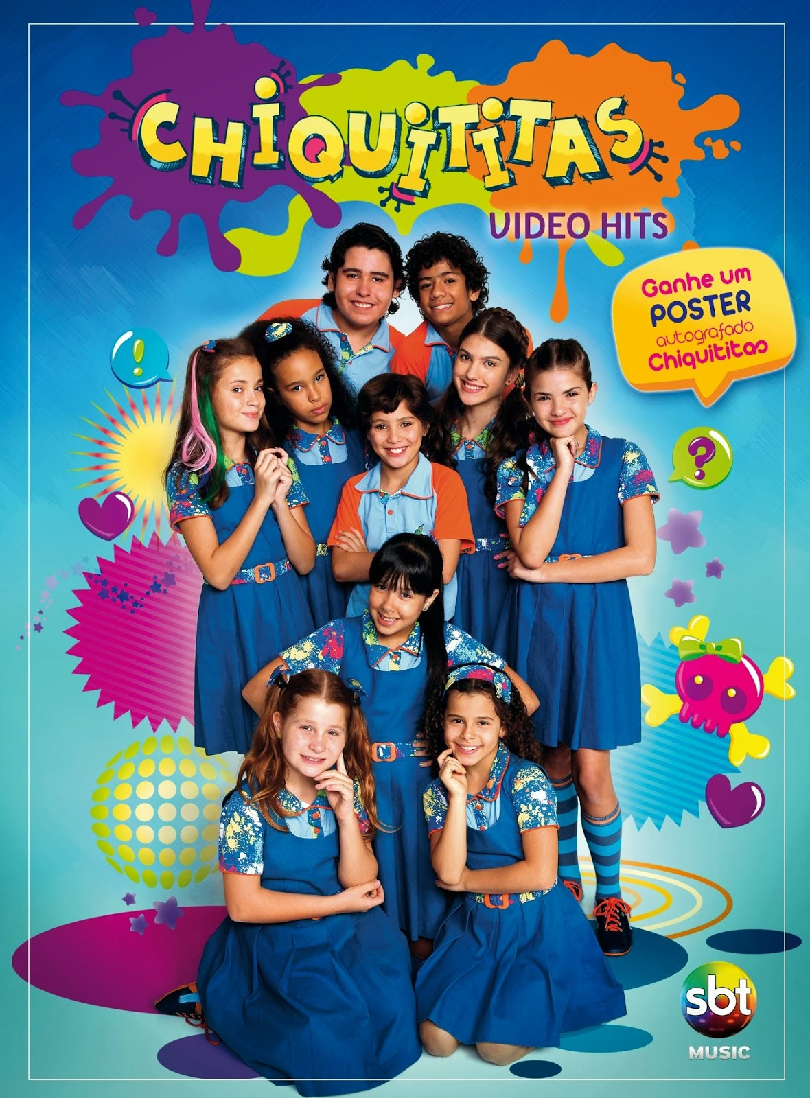 capa Download – Chiquititas – Video Hits – DVDRip AVI + RMVB Nacional ( 2013 )