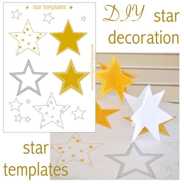 Free printable star templates 16 last minute diy for Angel tree decoration template