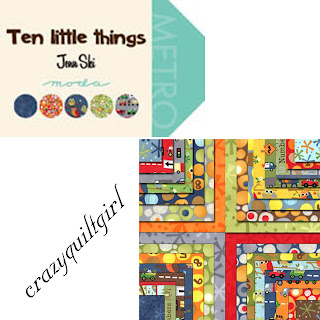 Moda TEN LITTLE THINGS Quilt Fabric by Jenn Ski