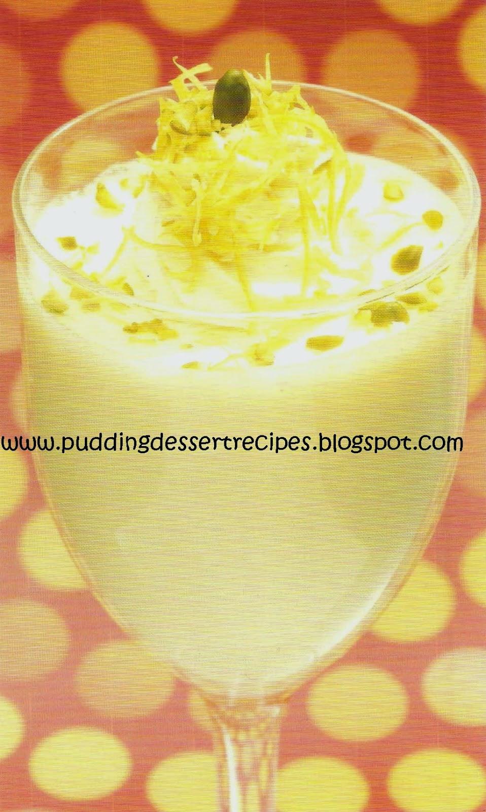 Lemon Mousse Recipe