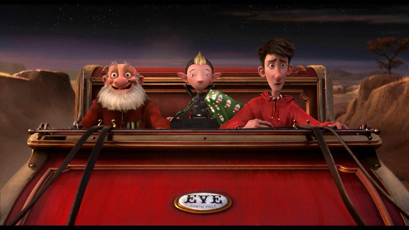 THE FINE ART DINER: Arthur Christmas & the Author of Christmas
