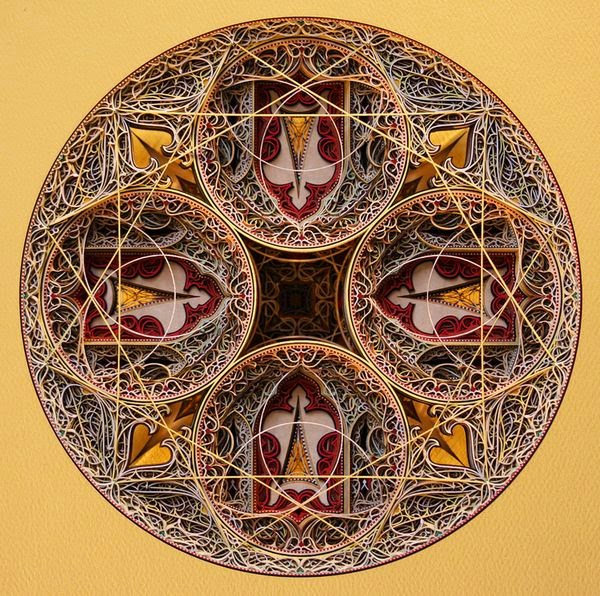 Incredible Laser Cut Paper Art by Eric Standley 5