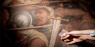 Penemuan Lukisan Da Vinci Di Balik Tembok