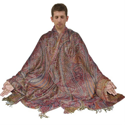 Body Wrap Meditation Shawl or Prayer Shawl