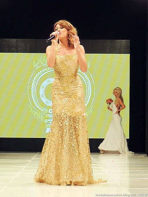 Claudio Cosano 2014 vestidos de fiesta 2014.