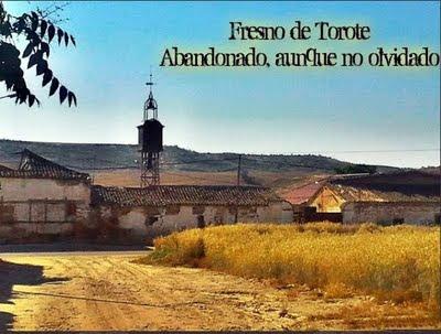 Fresno de Torote. Abandonado, aunque no olvidado