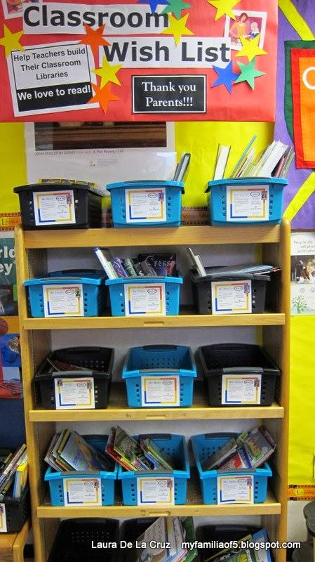 Classroom Wish List Ideas ~ My familia of book fair ideas library family and