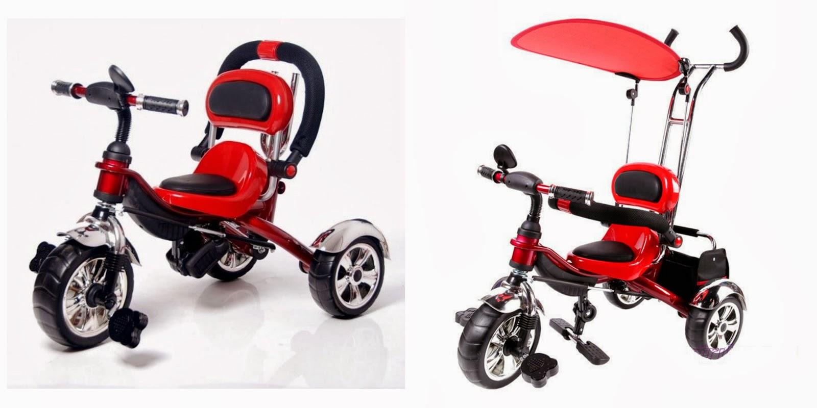 Tricicleta pentru copii Nichiduta