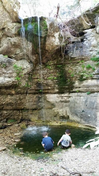 Road 299 Falls in Arkansas
