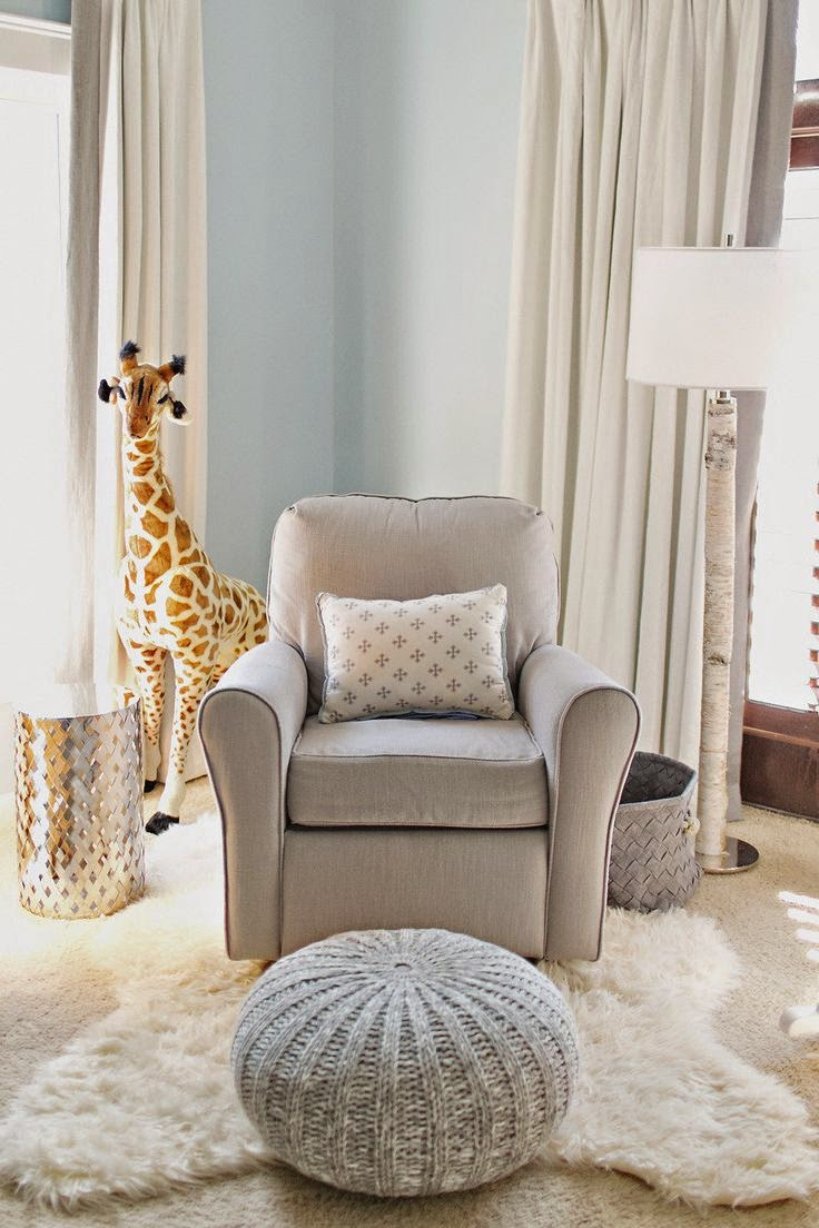 In A Nursery As An Ottoman With Rocker I Love This Alternative To Matching And Set