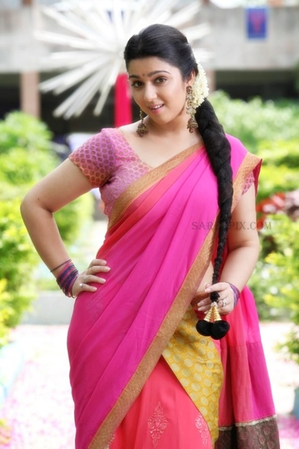 Charmi-kaur-half-saree-still