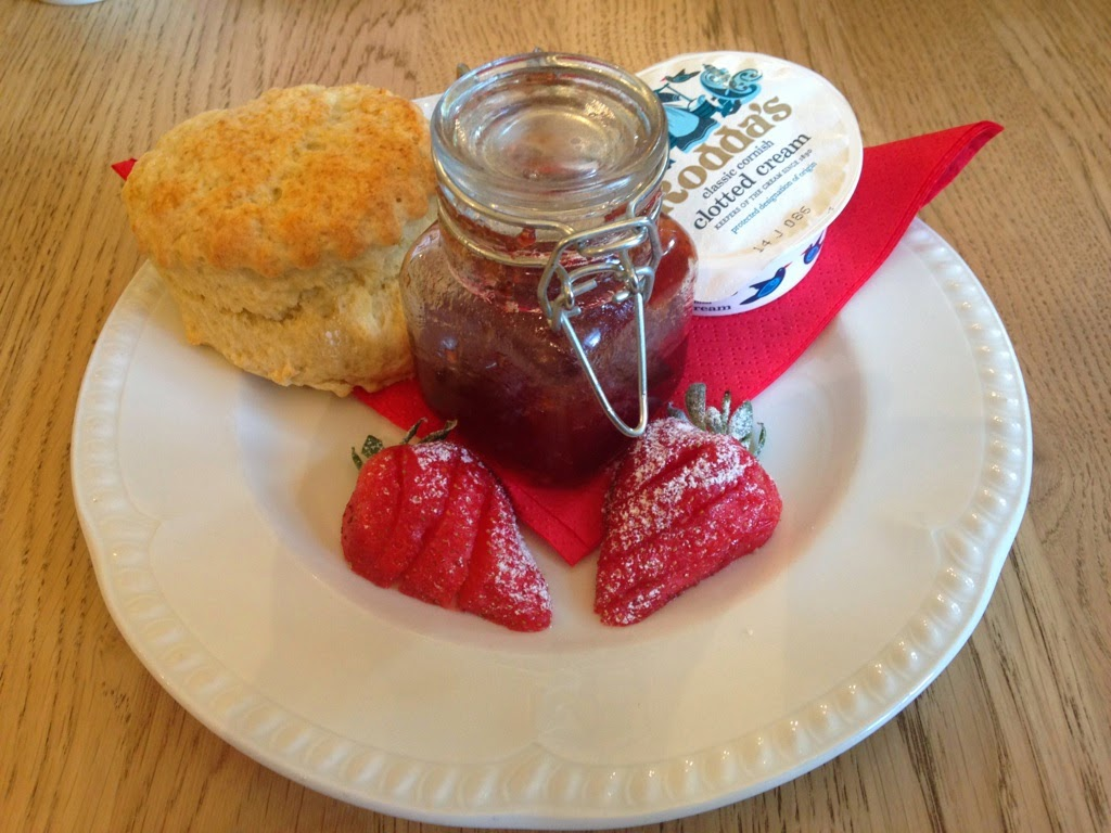 Eastbury Manor scones
