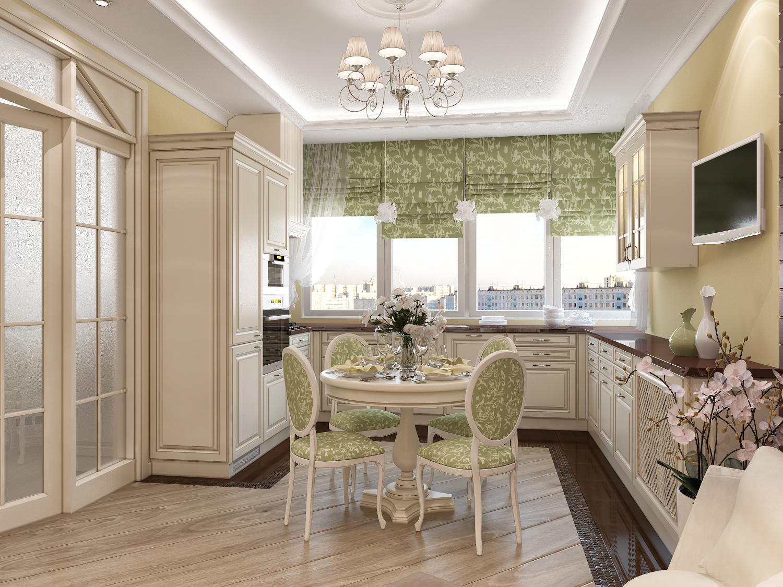 Кухни 7 метров дизайн фото