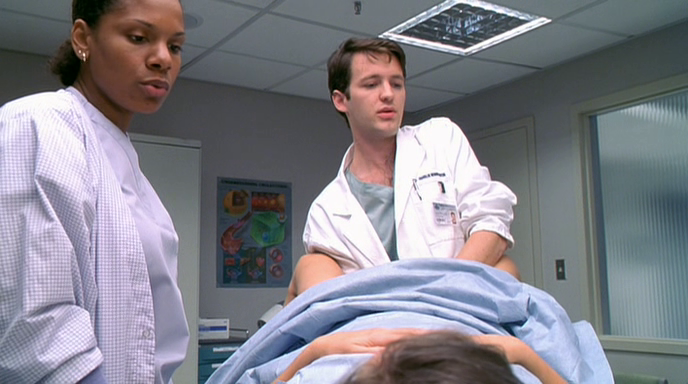 Wit film 2001 pelvic exam scene screenshot