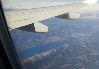 Lake under the wing